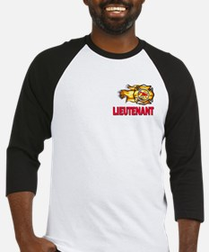 Fire Department Lieutenant Baseball Jersey