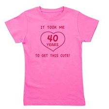 Cute40 Girl's Tee