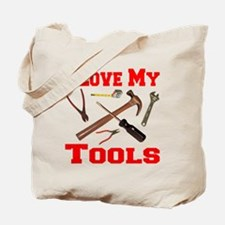 ilovemy_tools_transparent Tote Bag