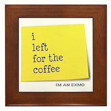 exmocoffee Framed Tile