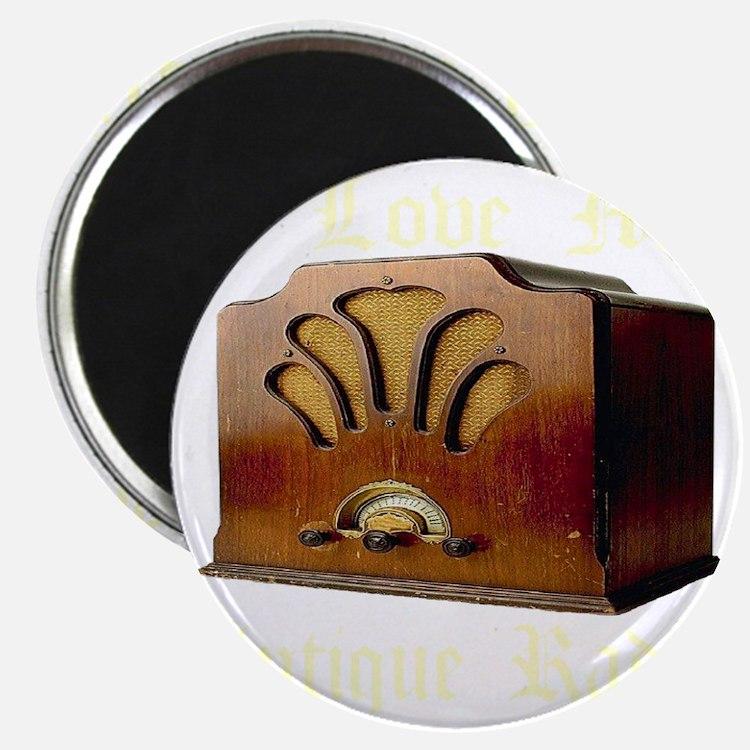 ilovemy_antique_radio_transparent Magnet