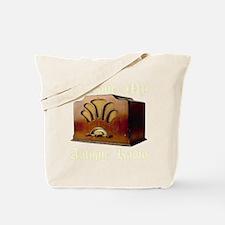 ilovemy_antique_radio_transparent Tote Bag