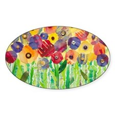 Melting Colors Garden Decal