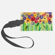 Melting Colors Garden Luggage Tag