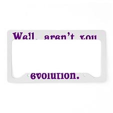 evolution_btle2 License Plate Holder