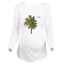 arnie Long Sleeve Maternity T-Shirt