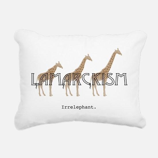 Lamarck Rectangular Canvas Pillow