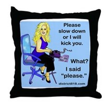 rep_mouse Throw Pillow