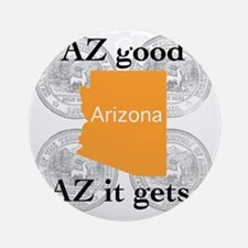 Arizona Round Ornament