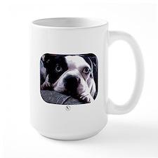 Sad Boston Terrier Mug