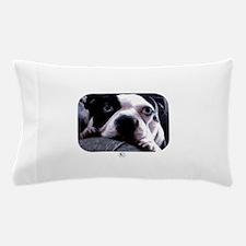 Sad Boston Terrier Pillow Case