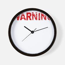 attitude_warning2 Wall Clock