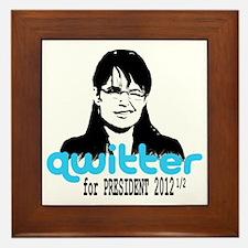 QwitterTee Framed Tile
