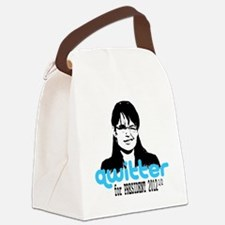 QwitterTee Canvas Lunch Bag