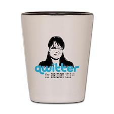 QwitterTee Shot Glass