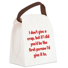dontgive_pg2 Canvas Lunch Bag