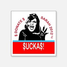 """SuckasSticker Square Sticker 3"""" x 3"""""""