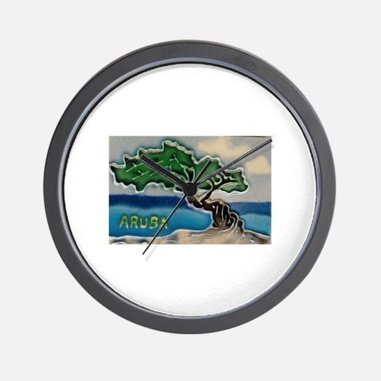 aruba Wall Clock