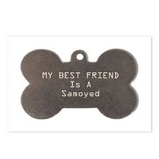 Friend Samoyed Postcards (Package of 8)