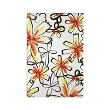 sketchyflowers_441 Rectangle Magnet