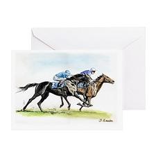 racewtrcolor Greeting Card