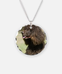 Irish Water Spaniel 9R032D-2 Necklace