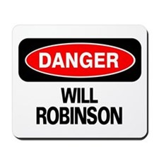 Danger Will Robinson Mousepad