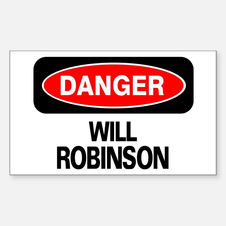 Danger Will Robinson Decal
