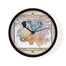 Pillow 9 Sept-ADA Azurea Wall Clock