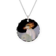 IPAD 3 ADA IPAD Necklace Circle Charm