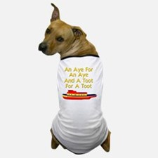 funny boat ship tugboat captain Dog T-Shirt