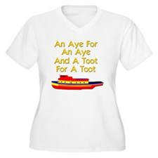 funny boat ship t T-Shirt