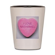 HEART NATHANIEL Shot Glass