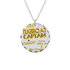 funny tugboat captain Necklace