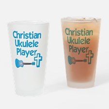 Christian Ukulele Player Drinking Glass