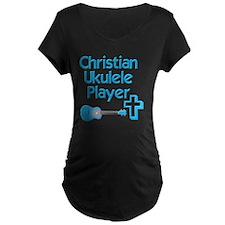 Christian Ukulele Player T-Shirt