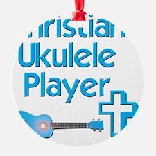 Christian Ukulele Player Ornament