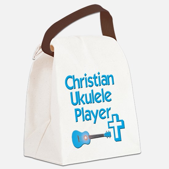 Christian Ukulele Player Canvas Lunch Bag