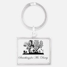 Searching for Darcy Landscape Keychain