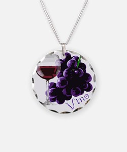 vino_10by10 Necklace