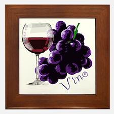 vino_10by10 Framed Tile