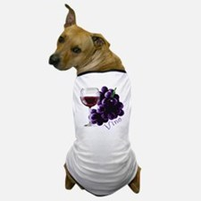 vino_10by10 Dog T-Shirt