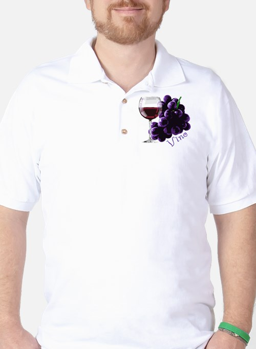 vino_10by10 Golf Shirt