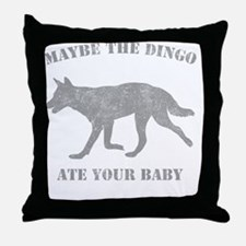 dingog Throw Pillow
