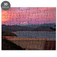 Mt. Shasta Sunset Yard sign Puzzle