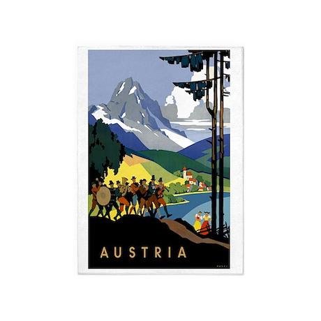 Austria Band 5'x7'Area Rug
