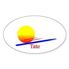 Tate Oval Decal