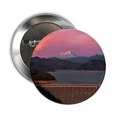 """Mt. Shasta Round Wall Clock 2.25"""" Button"""