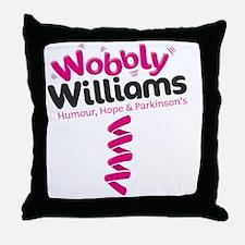 ww colour Throw Pillow