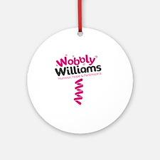 ww colour Round Ornament